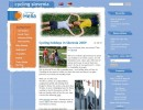 Razvoj, kreativna zasnova in oblikovna prenova spletne strani Cycling Slovenia